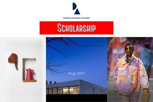 scholarship master domus academy aug 2021